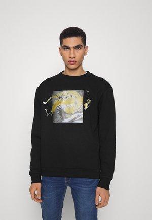 PORTRAIT CREW UNISEX - Sweatshirt - black