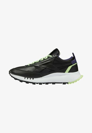 NEW LEGACY LEATHER SHOES - Trainers - black