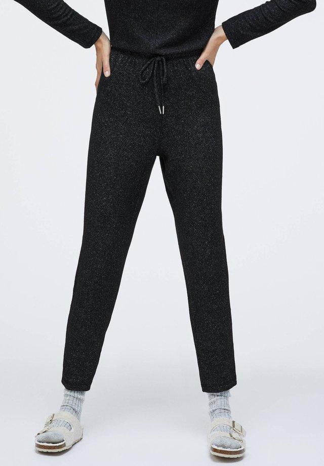 SOFT TOUCH - Pantaloni del pigiama - black