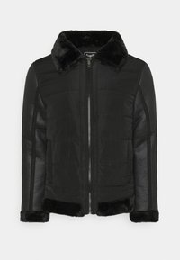 Brave Soul - CAESAR - Faux leather jacket - black - 5