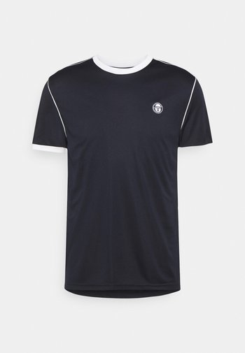 MAN - T-shirts med print - blanc de blanc/night sky