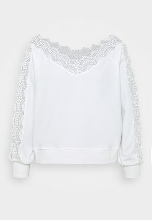 Sweatshirt - cream
