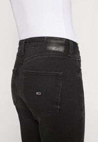 Tommy Jeans - SYLVIA ANKLE - Jeans Skinny Fit - black denim - 3