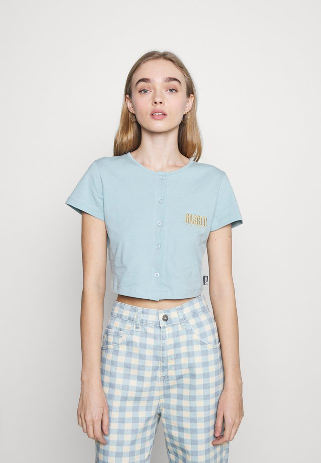 VERVE TEE - Camiseta estampada - blue
