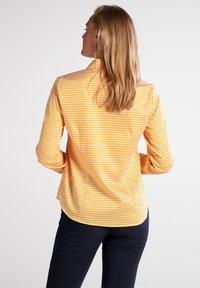 Eterna - MODERN CLASSIC - Button-down blouse - gelb/weiss - 1