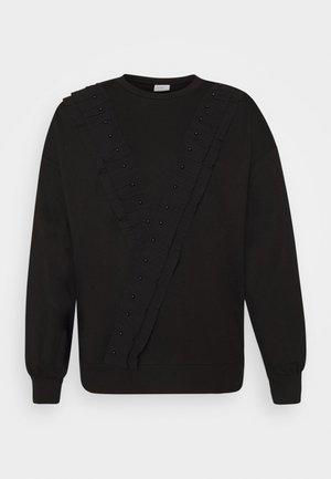 FAYA L/S FRILL - Sweatshirt - black