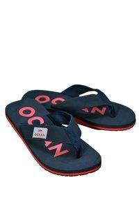 MADSea - Pool shoes - dunkelblau/rot - 3