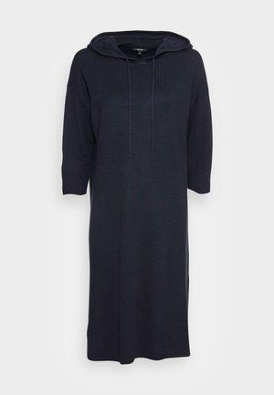 WOLERS - Strikket kjole - mystic blue