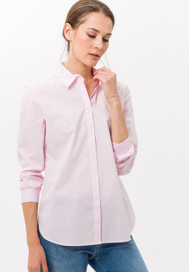 BRAX - STYLE VICTORIA - Button-down blouse - rose
