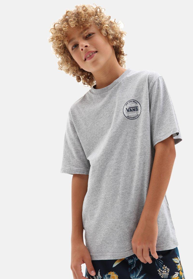 Vans - Print T-shirt - athletic heather