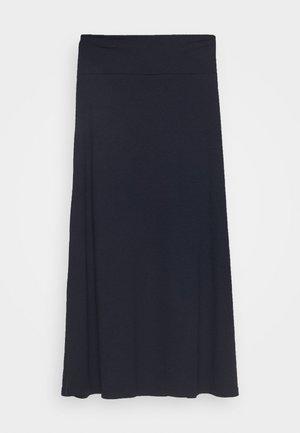 SARI - A-line skirt - navy
