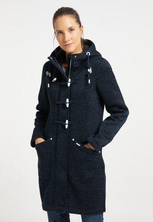 Klasický kabát - dunkemarine melange