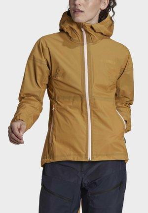 Hardshell jacket - brown