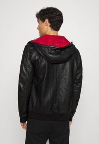 Gipsy - GRAYDON - Leather jacket - black - 2