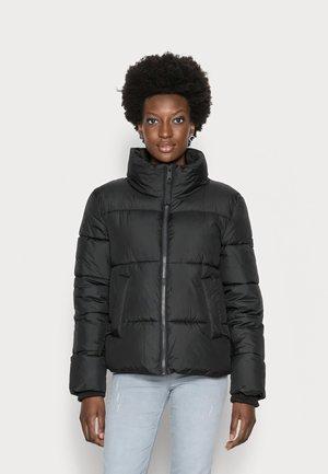 MODERN PUFFER  - Winter jacket - deep black