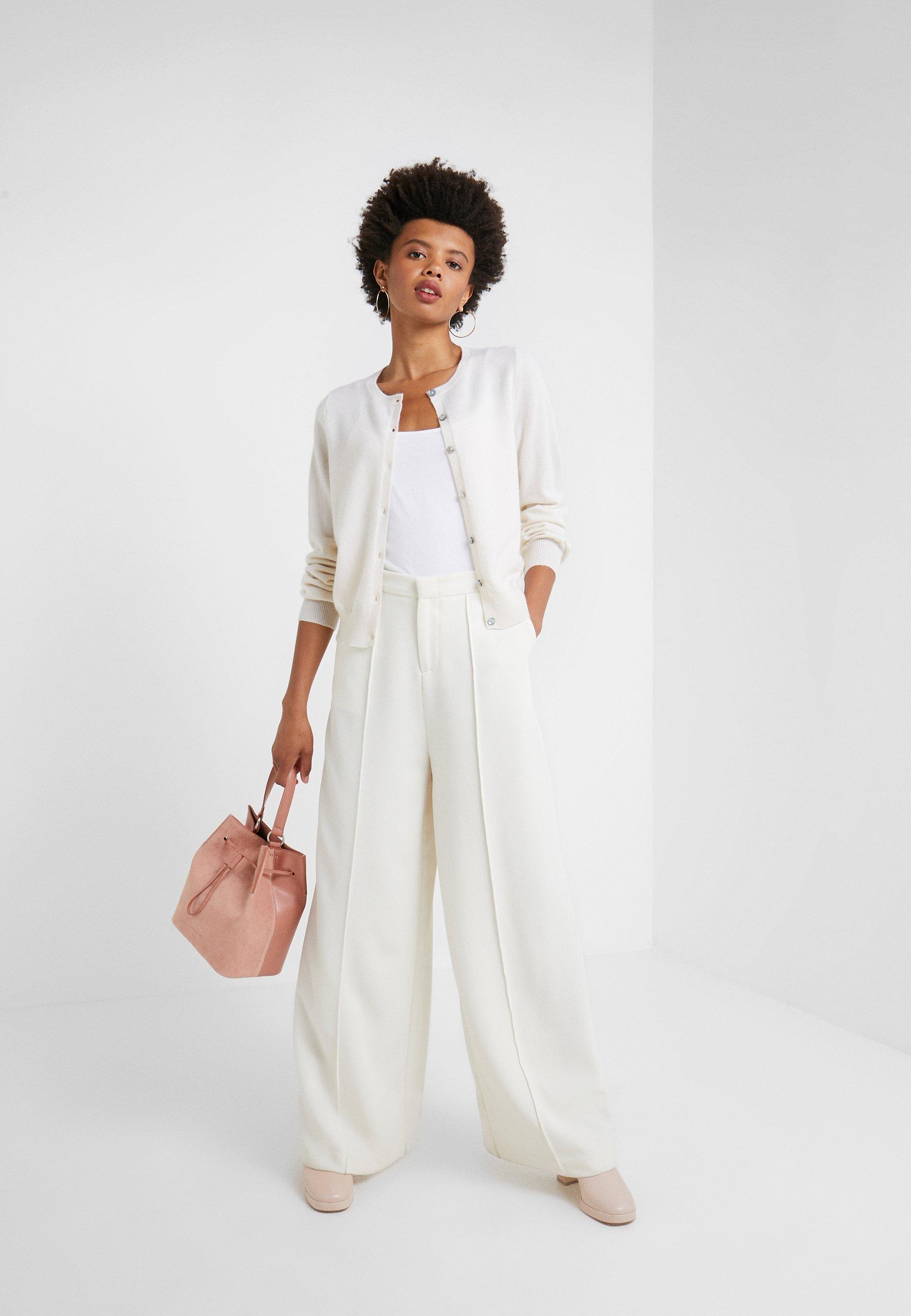 FTC Cashmere Cardigan - pristine white