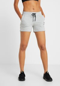 Hummel - HMLNICA  - Sports shorts - grey melange - 0