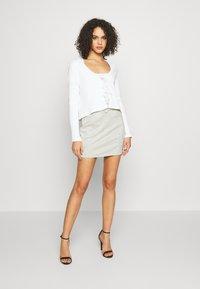Monki - MATHILDA CARDIGAN - Vest - white - 1