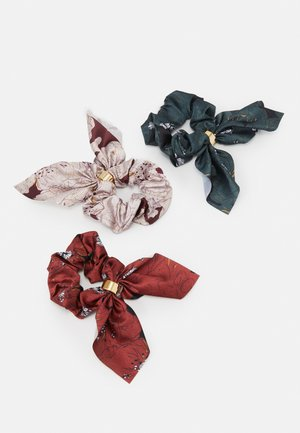 ONLELLA SCRUNCHIE 3 PACK - Hair styling accessory - misty rose/multi colour