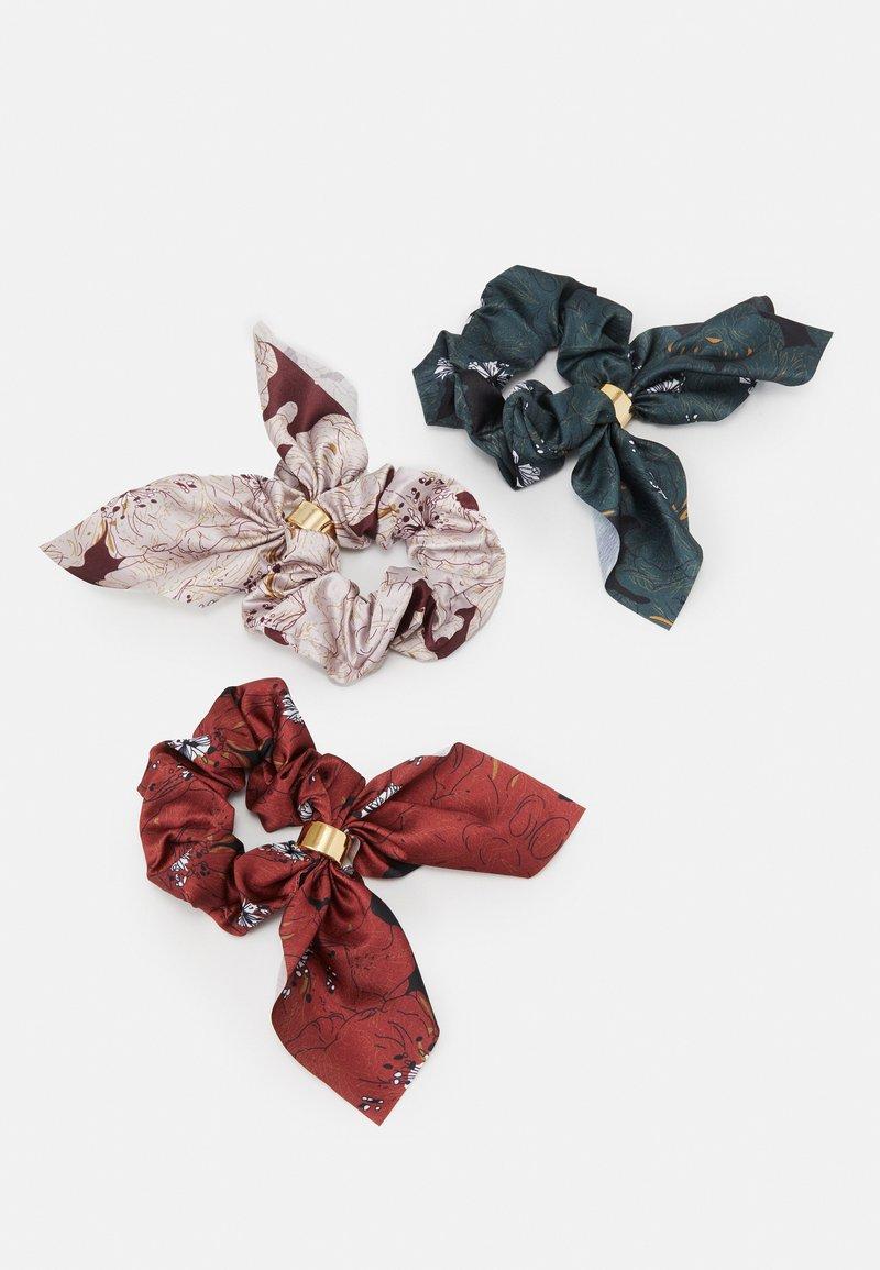 ONLY - ONLELLA SCRUNCHIE 3 PACK - Akcesoria do stylizacji włosów - misty rose/multi colour