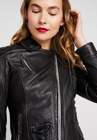 Freaky Nation - BLIND TRUST - Leather jacket - black - 3