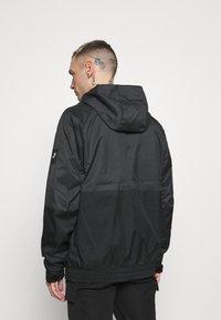 Nike Sportswear - AIR  - Waterproof jacket - black/dark smoke grey/white - 2