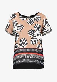 Gerry Weber - Print T-shirt - shell schwarz tangerine druck - 2