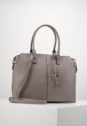 Laptop bag - light grey