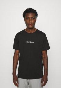 N°21 - Print T-shirt - black - 0
