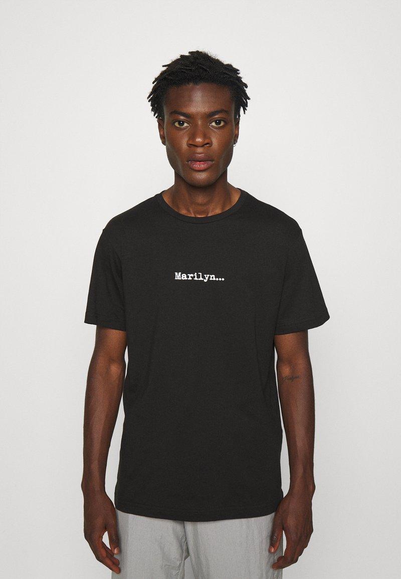 N°21 - Print T-shirt - black