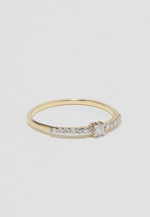 WHITE GOLD ENGAGEMENT RING - Ring - gold-coloured