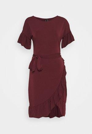 VMPOPPY TIE SHORT DRESS - Etuikjole - fig