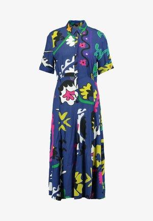FLANDES - Długa sukienka - azul tinta