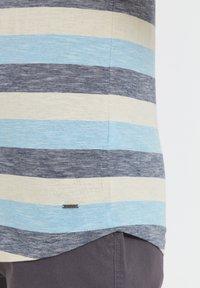 Solid - RUNDHALSSHIRT THICCO - Print T-shirt - light blue - 4