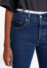 Levi's® - 501® CROP - Jeans straight leg - charleston vision - 6