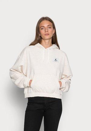 ESSEN HOODIE - Sweatshirt - coconut milk/dark pony