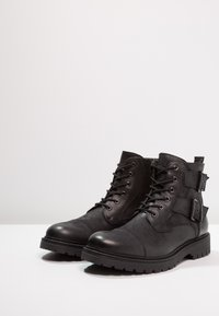 Pier One - Lace-up ankle boots - black - 2