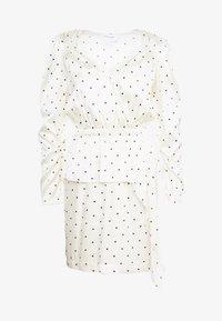 DESIGNERS REMIX - FALLON DRESS - Shift dress - white/black - 3
