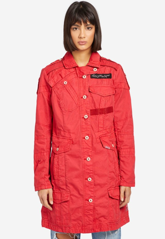 KERIM - Trench - red