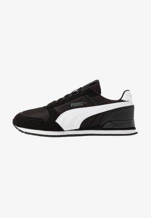RUNNER - Trainers - black/white
