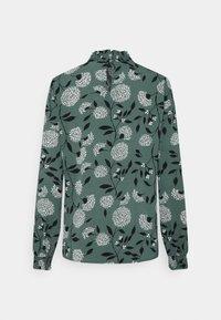 ONLY - ONLNOVA LUX SMOCK - Blouse - balsam green/white - 7