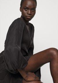 Bruuns Bazaar - SIANNA MONNIKA DRESS - Day dress - black - 3