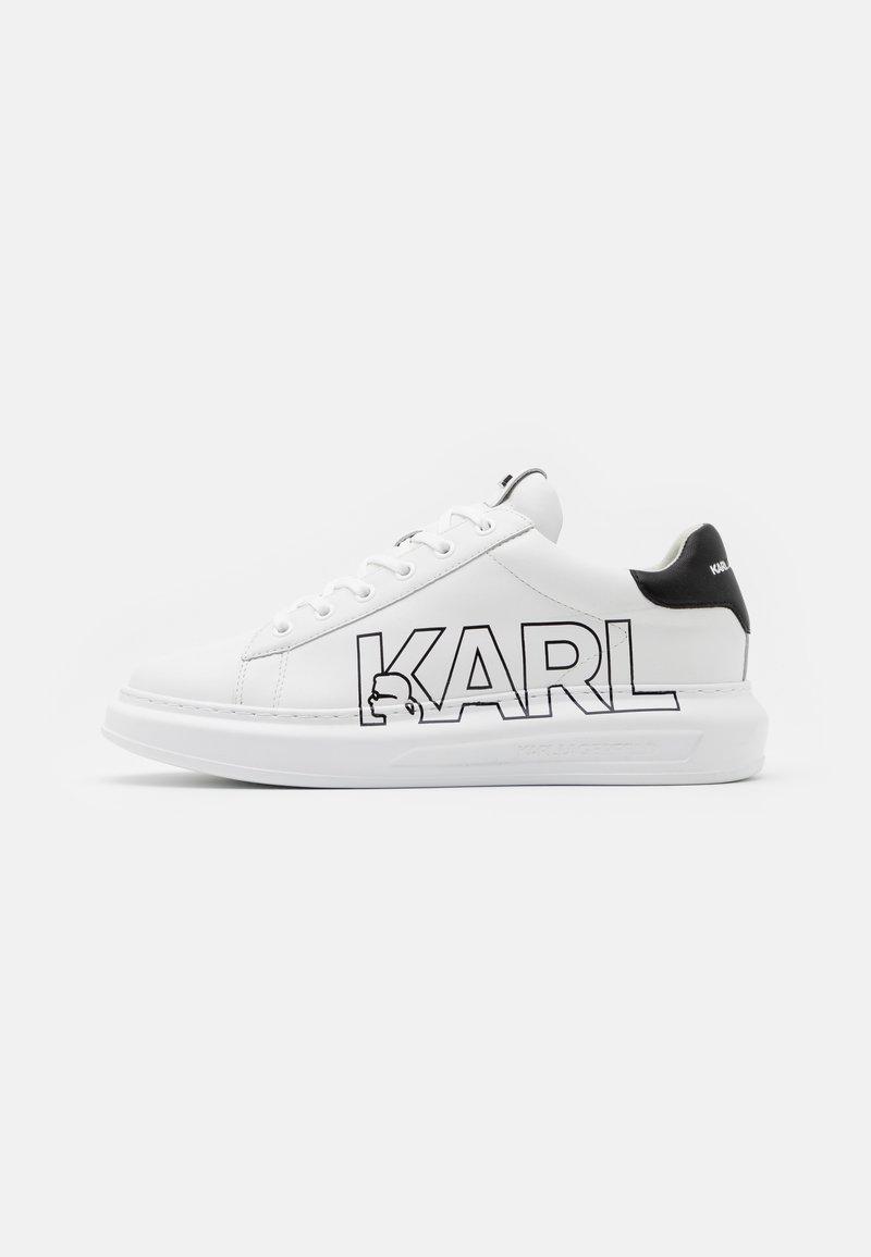 KARL LAGERFELD - KAPRI MENS LOGO  - Trainers - white