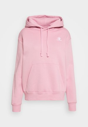 FOUNDATION HOODIE - Bluza z kapturem - lotus pink