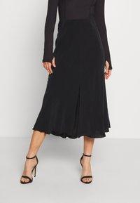 Weekday - WAVE SKIRT - A-line skirt - black - 0