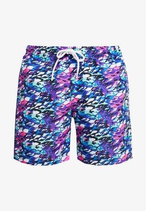 SWIM SHORTS - Swimming shorts - blue/pink