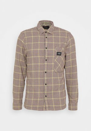 GENTLEMAN'S CHECK - Overhemd - dark brown