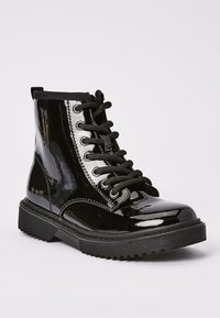 Next - Lace-up ankle boots - mottled black - 2