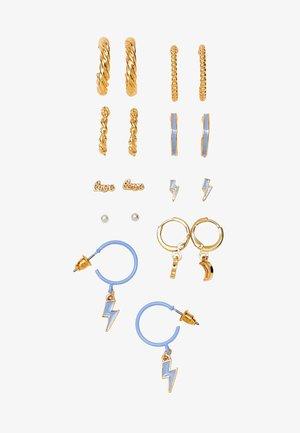 9 SET - Örhänge - gold