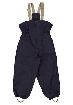 SKI PANTS UNISEX - Snow pants - deep blue
